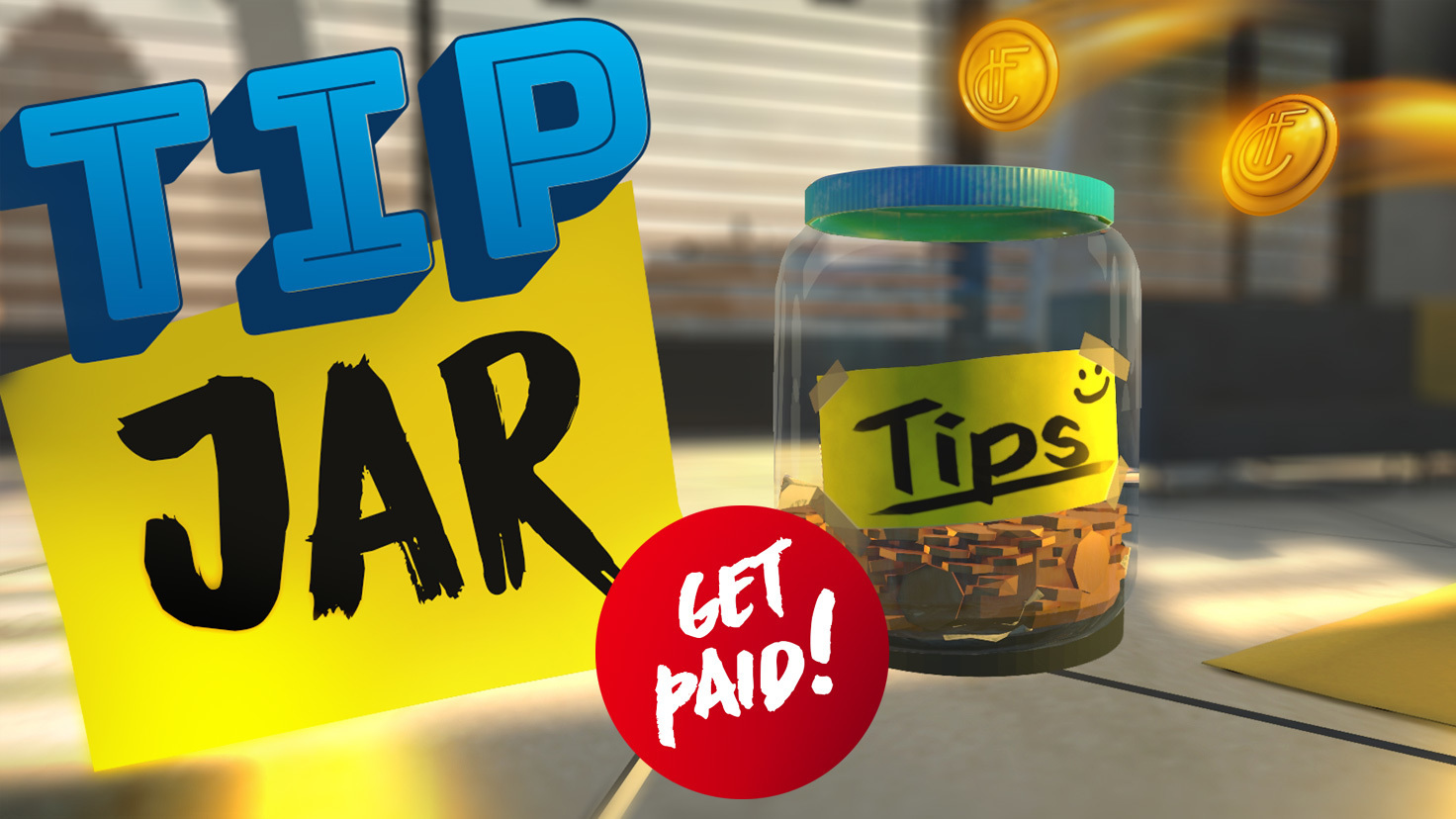 Tip Jar! - Apps, Scripts & Tools - Marketplace - High Fidelity